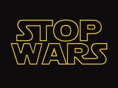 002. Stop wars T-Shirt