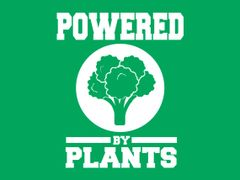 274. Powered By Plants T-Shirt