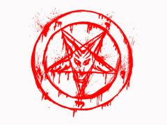 185. Bloddy Pentagram T-Shirt