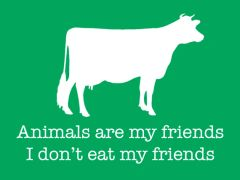 165. Animals Are My Friends T-Shirt