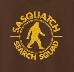 239. Sasquatch Search Squad T-Shirt