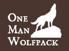 135. One Man WolfPack T-Shirt