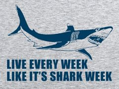 079. Live Every Week Like It's Shark Week T-Shirt