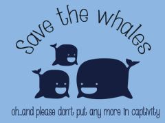 091. Save The Whales T-Shirt