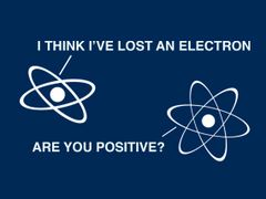 030. I Think I Lost An Electron T-Shirt