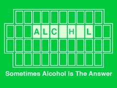 152. Alcohol Is The Answer T-shirt