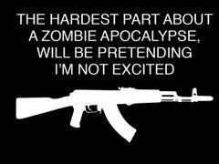 184. Zombie Apocalypse T-Shirt