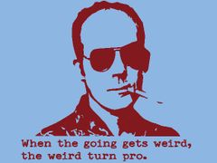 216. Hunter S Thompson T-Shirt