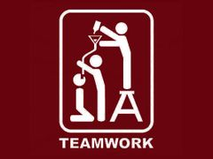 013. Drinking Teamwork T-Shirt
