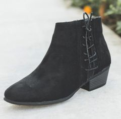 Black Ankle Bootie (SDB489)