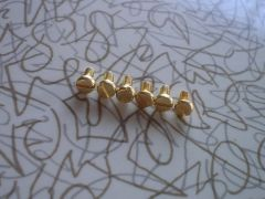 Gold Flat Pan-Head Replacement Melita Clip Screws