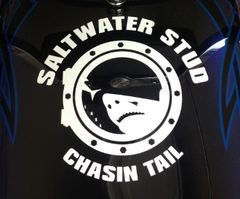 Saltwater Stud Decal