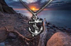 "Saltwater Stud ""Dad"" Necklace"