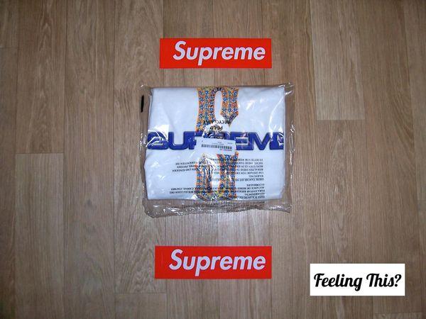 27c8634f61d9 Supreme Diamonds Tee White MEDIUM- Feeling This? | Supreme - Feeling This?