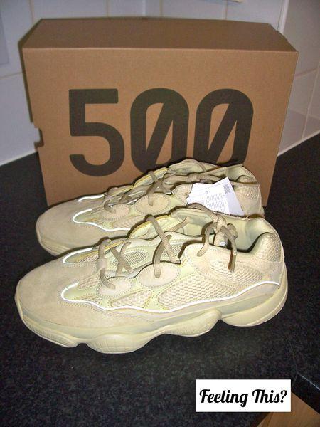 88fe7bae461 Adidas YEEZY 500 Supermoon Yellow UK 10