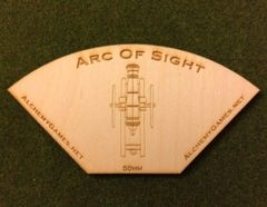 Plywood Arc of Sight - Cannon