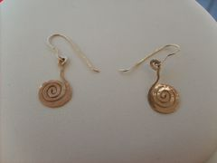 Infinite Spiral Ear Rings