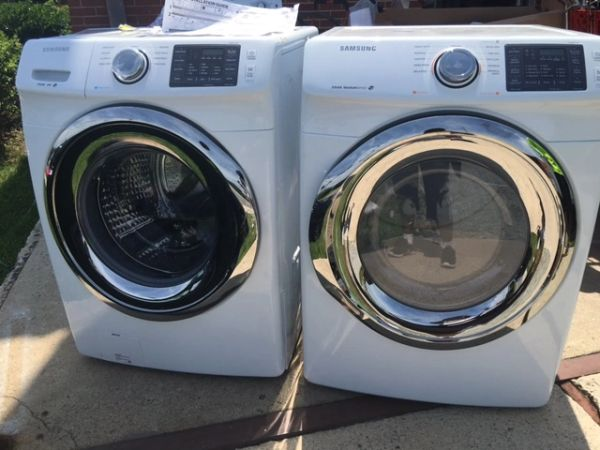 Samsung Front Loaders Washer And Dryer With Steam The