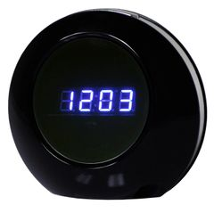 MiniClockDeluxe: Modern Digital Clock Hidden Camera