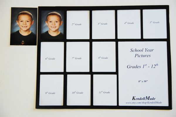 School Year 1 12 Or Babys First Year 1 12 Picture Frame Ma