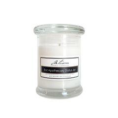 Aromatherapy - 8 oz Apothecary Status Jar