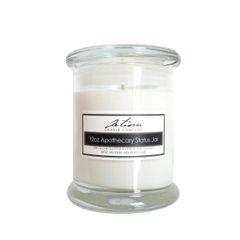 Aromatherapy - 12 oz Apothecary Status Jar