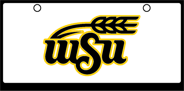 Wichita State Large color logo on White