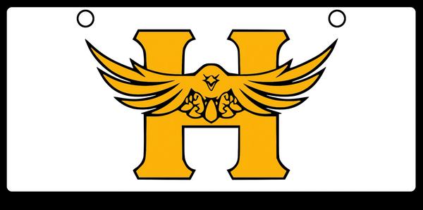 Hutchinson Salt Hawk Amber on White