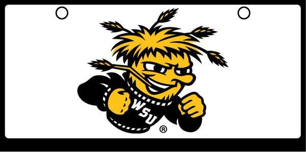 Wichita State WU Shock Color on White