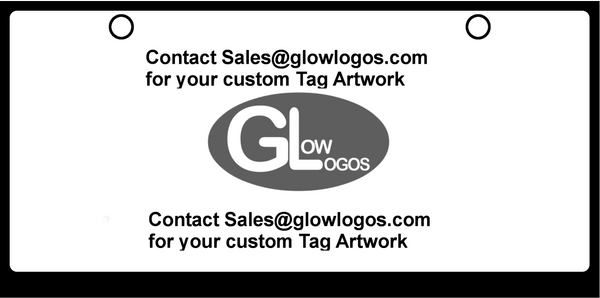 CUSTOM ARTWORK (One time setup fee for custom Artwork) Order with Custom Blank Tag in any qty to create your own custom tag.