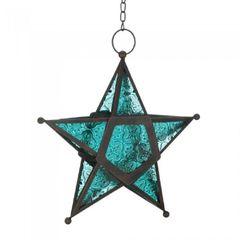 Glass Star Solar Lantern