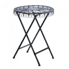 FLEUR-DE-LIS PATIO TABLE