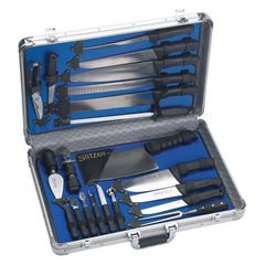 22pc Professional Chef's Cutlery Set in Case