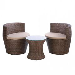 Faux Wicker Outdoor Bristo Set