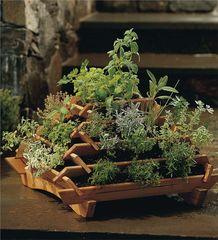 Raised Pyramid Garden Planter