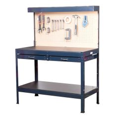 Steel Professional Workbench with Light