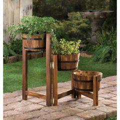 Apple Barrel Planters