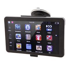 "7"" HD Touch Screen Portable Vehicle GPS"