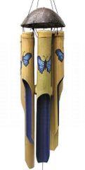 Blue Butterfly Wind Chimes
