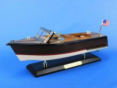 Chris Craft Runabout Wood Model Speedboats