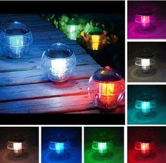 Outdoor Garden Solar Landscape Ball Light 2 LEDs (Two Pack)