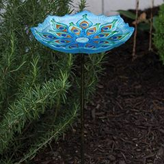 Glass Bird Baths