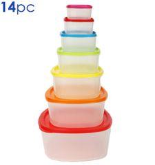 14 Pc Food Storage Container Set