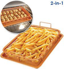 Copper Oven Open Air Fryer - 2 Pc Set