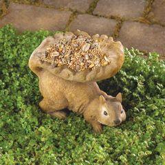Woodland Squirrel Bird Feeders