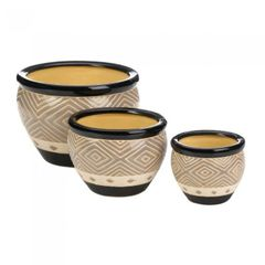 Modern Ceramic Planter Sets