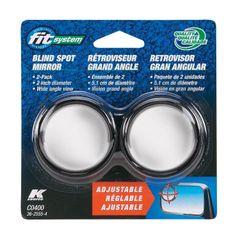 Driver/Passenger Side Stick-On Adjustable Blind Spot Mirrors