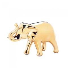 Golden Elephant Statue