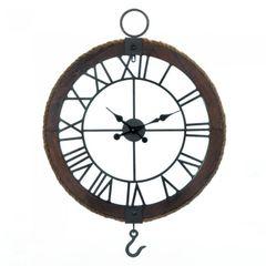 "25 1/2"" Industrial Wall Clock"