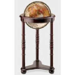 Rich Mahogany Floor Sanding World Globe